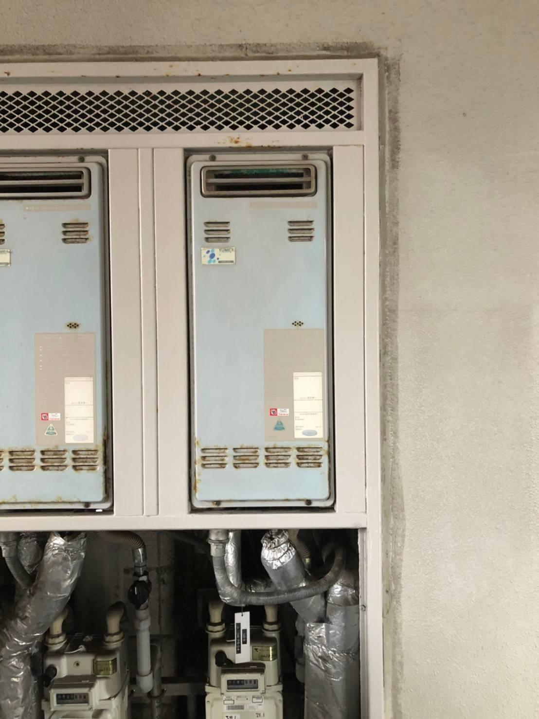 施工前   藤沢市周辺エリアのガス給湯器・電気温水器・エコキュート交換  株式会社内藤商事