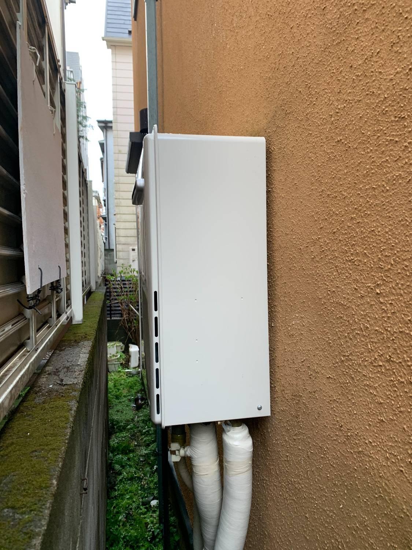施工後 | 藤沢市周辺エリアのガス給湯器・電気温水器・エコキュート交換| 株式会社内藤商事