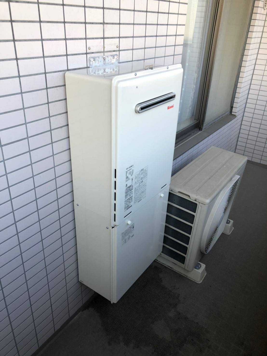 施工後   藤沢市周辺エリアのガス給湯器・電気温水器・エコキュート交換  株式会社内藤商事