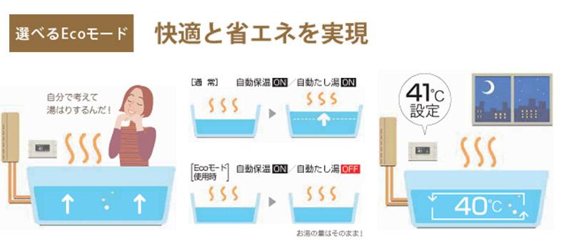 ガス給湯器 フルオプション